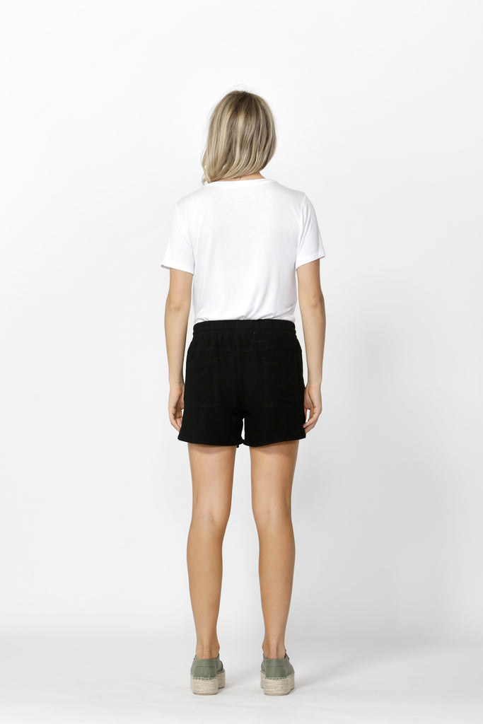 Betty Basics | Charlie Short - Black | Shut the Front Door