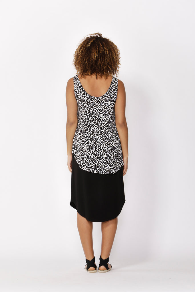 Betty Basics | Boston Tank - Brush Print | Shut the Front Door