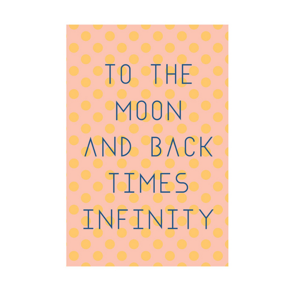 Card - To the Moon & Back