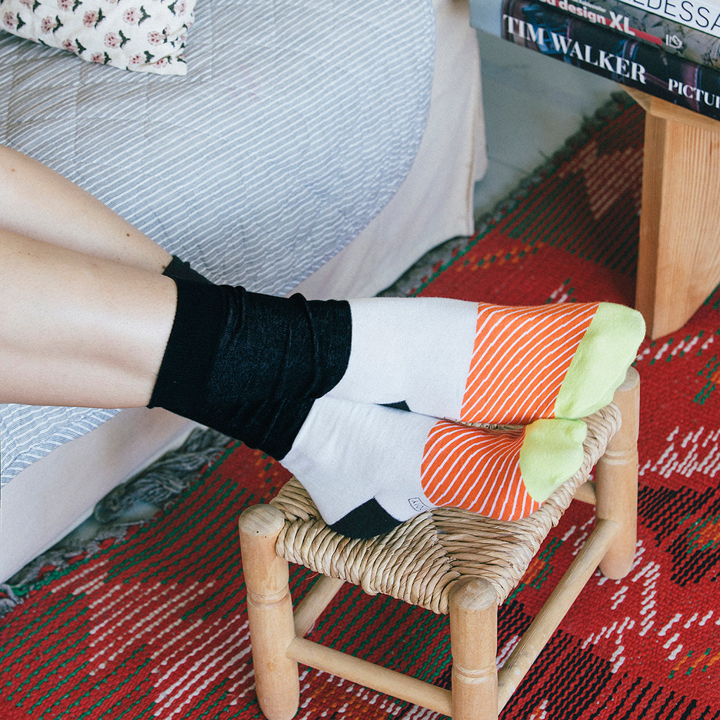 Doiy | Maki Sushi Socks - Salmon | Shut the Front Door