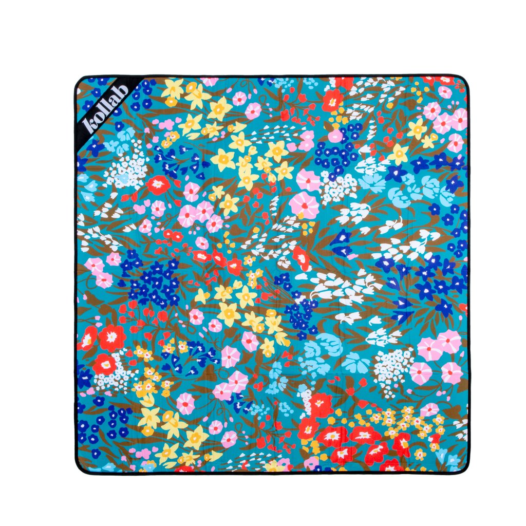Kollab | Mini Picnic Mat - Spring Garden | Shut the Front Door