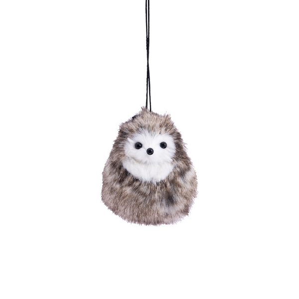 Down to the Woods | Fluffy Hedgehog Christmas Decoration | Shut the Front Door