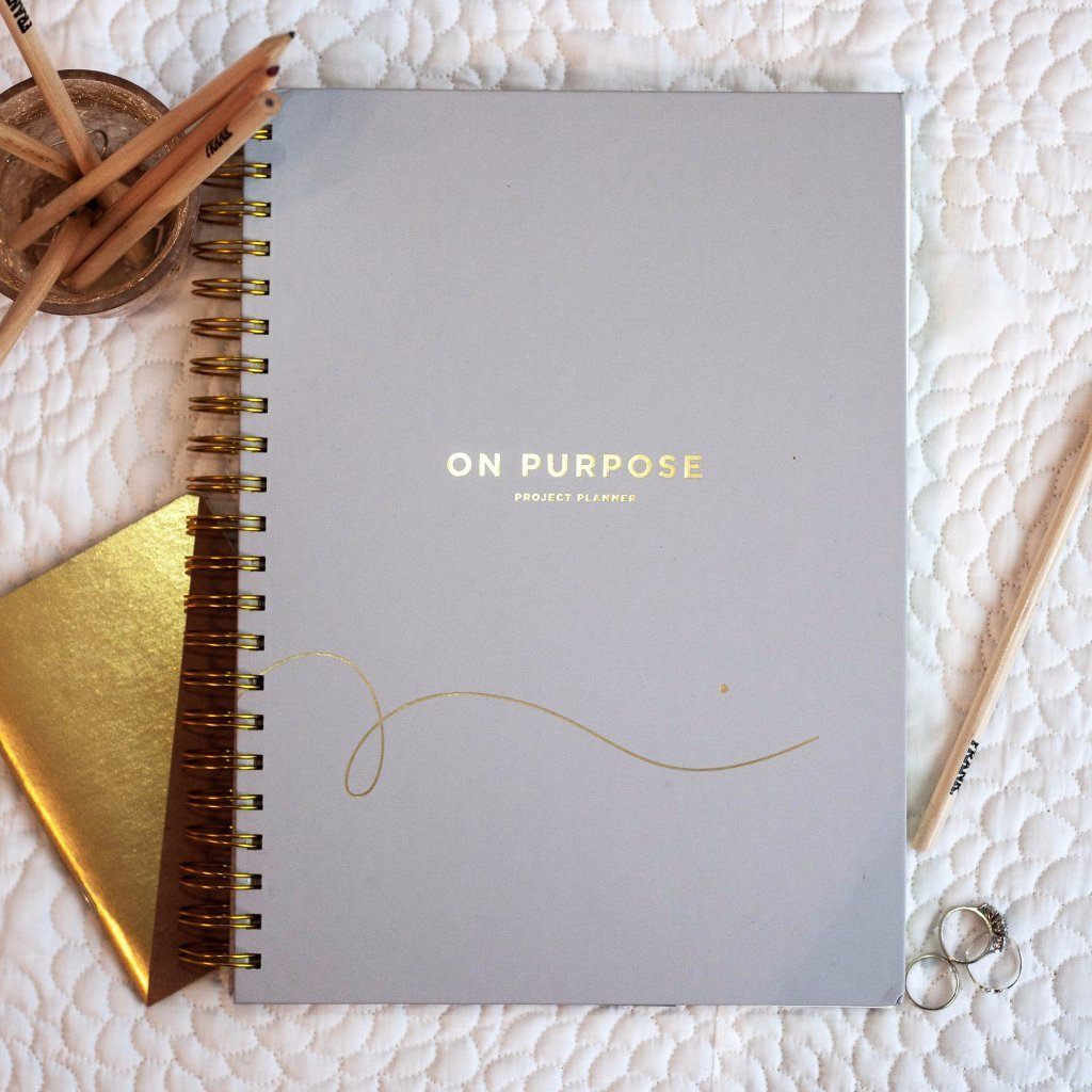 frank stationery on purpose project planner stone shut the