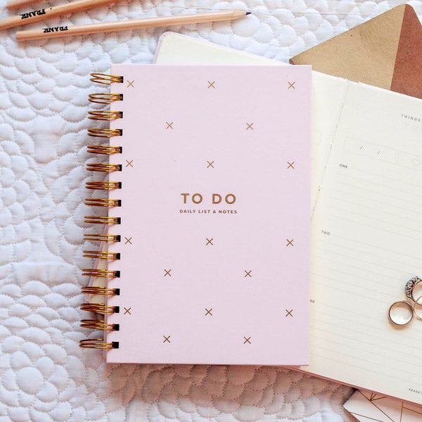 Frank | To Do Daily List & Notes BLUSH | Shut the Front Door