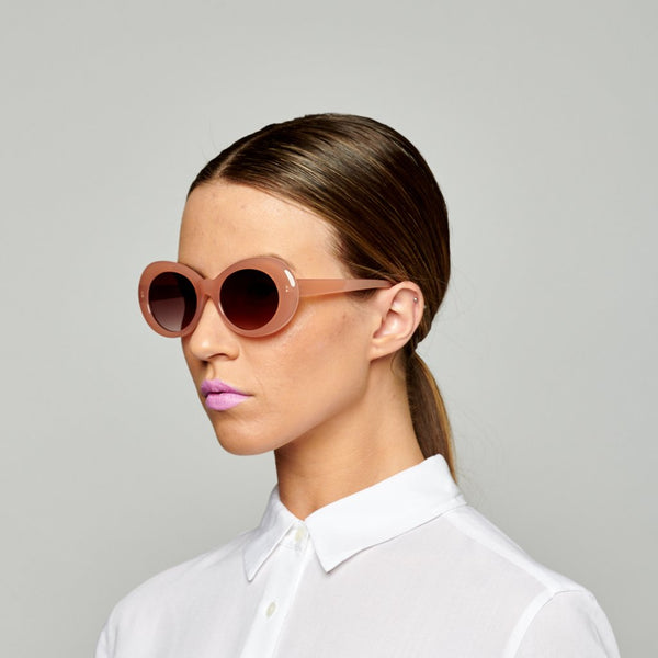 Reality Eyewear | Sunglasses - Festival of Summer Dusty Pink | Shut the Front Door