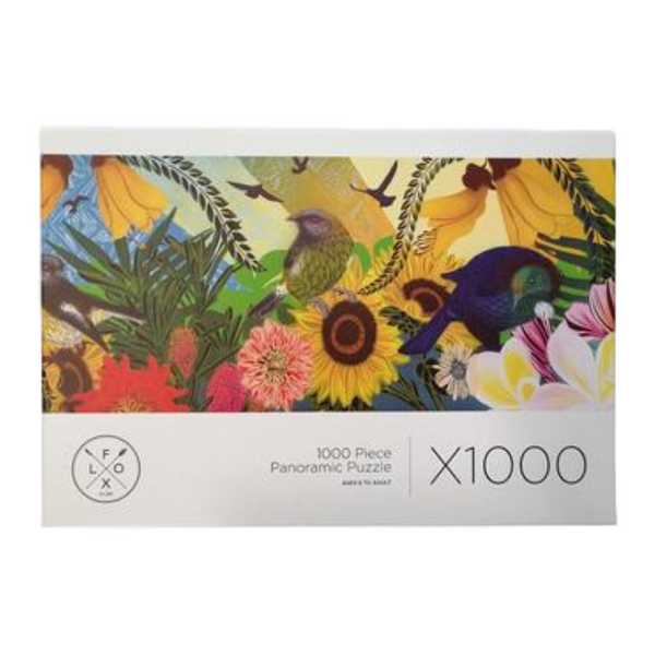 Flox | Flox - 1000 Pce Puzzle - Kowhai | Shut the Front Door