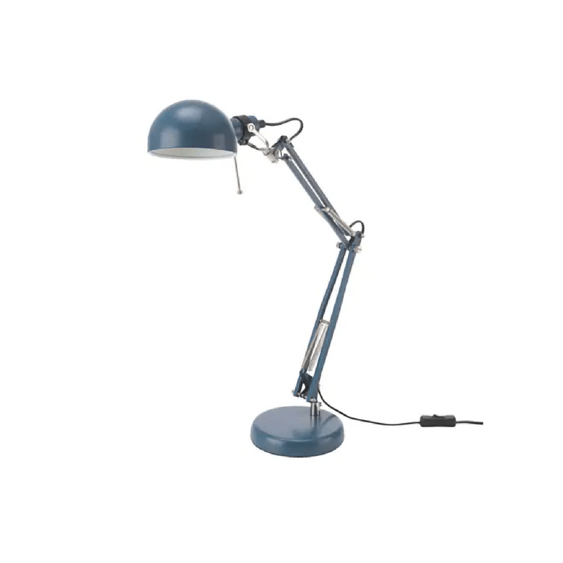 IKEA | Forsa Work Lamp - Blue | Shut the Front Door