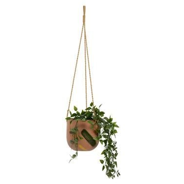 Habitat | Frankie Hanging Pot Eathern - Small | Shut the Front Door