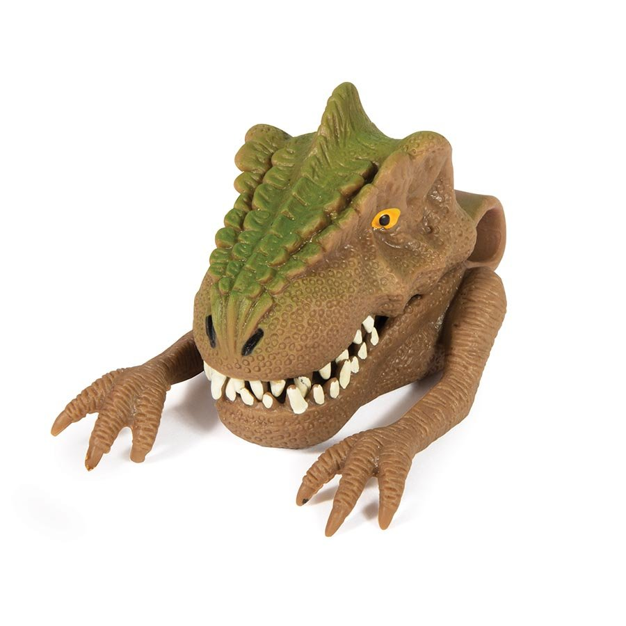 IS Gifts | Freaky Face Trex Hand Puppet | Shut the Front Door