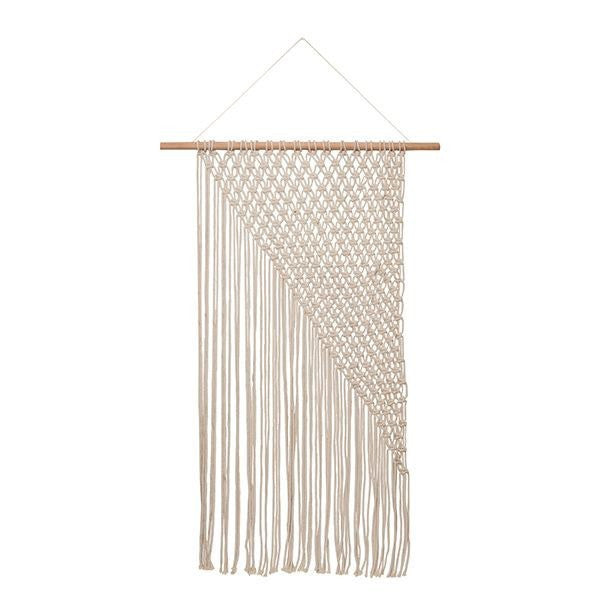 General Eclectic | Macrame Wall Decor XL NATURAL | Shut the Front Door
