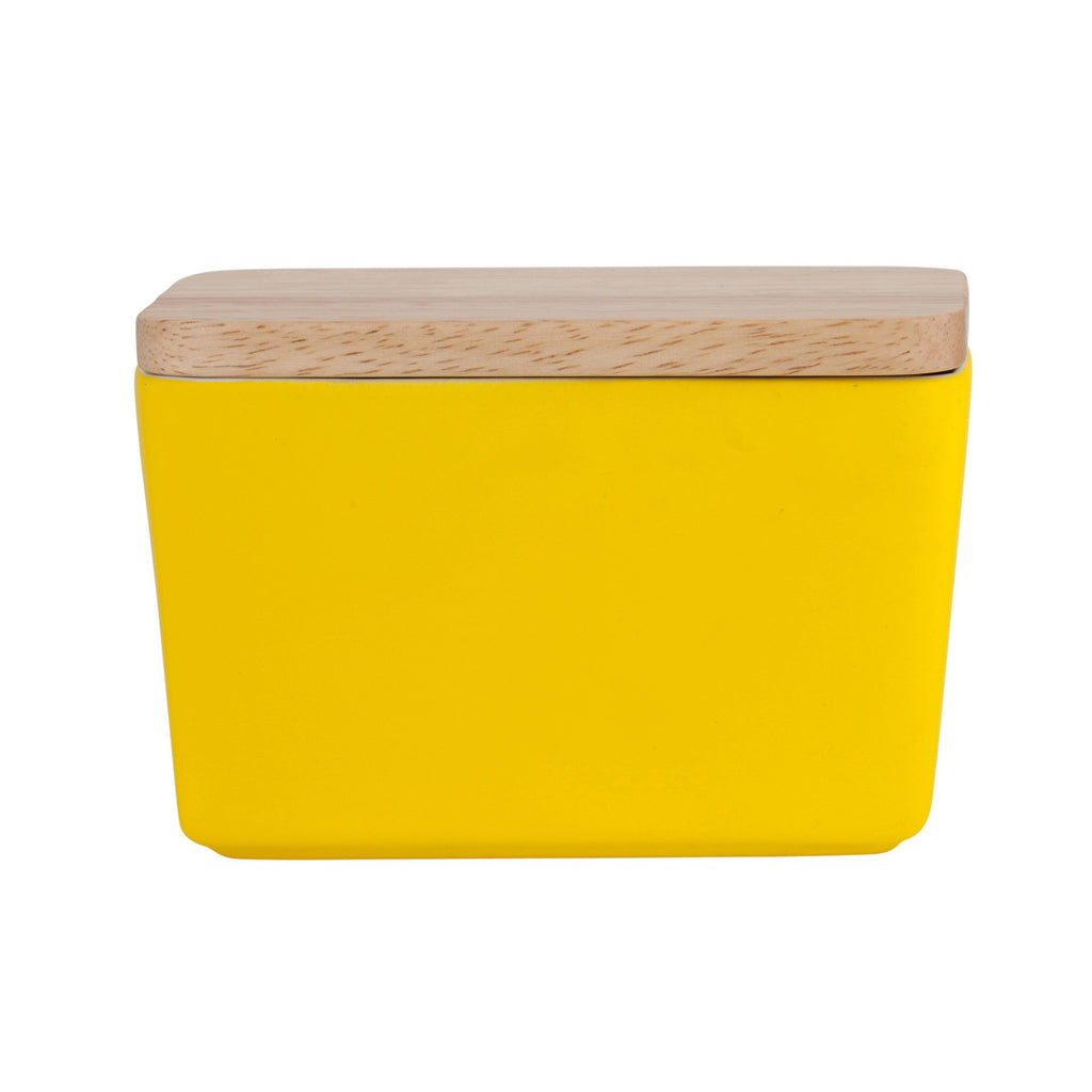 General Eclectic | Butter Dish Matt Yellow | Shut the Front Door