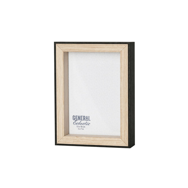 General Eclectic | Frame 5x7 Natural/Black Rim | Shut the Front Door