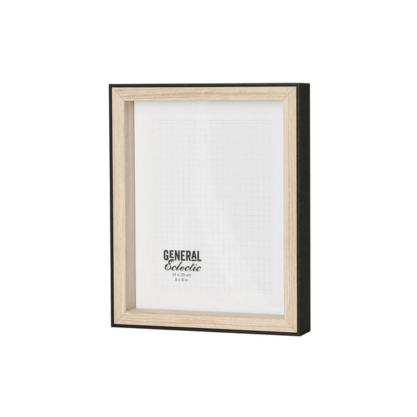General Eclectic | Frame A5 Black&Natural | Shut the Front Door
