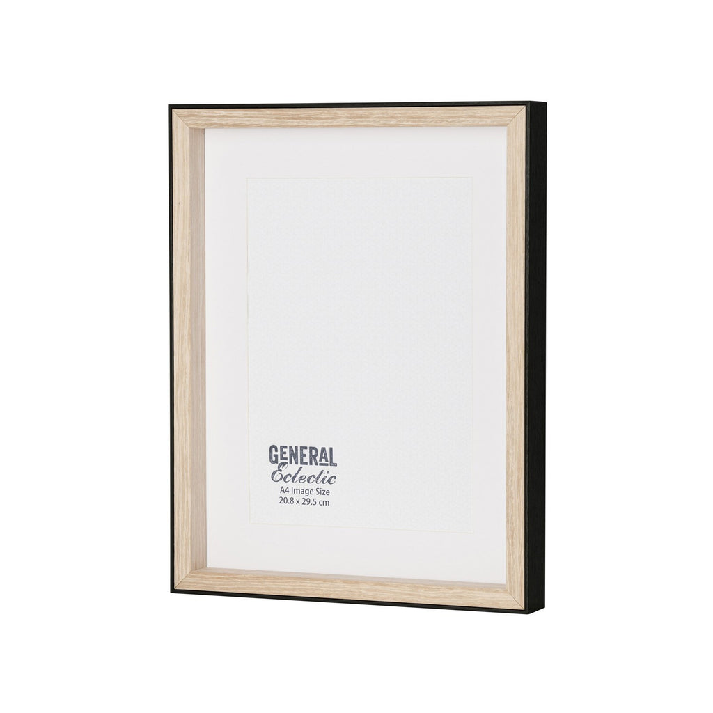 General Eclectic | Frame A4 Black&Natural | Shut the Front Door
