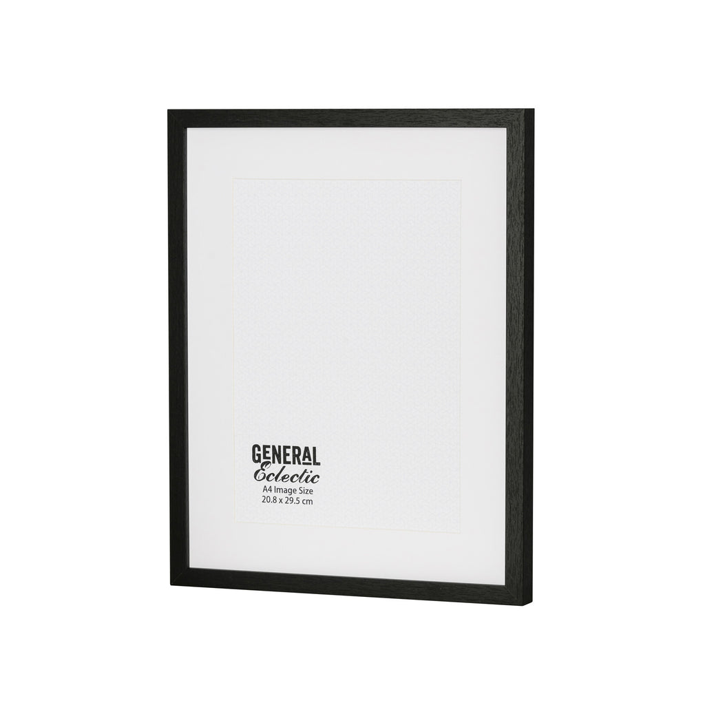 General Eclectic | Frame A4 Black | Shut the Front Door
