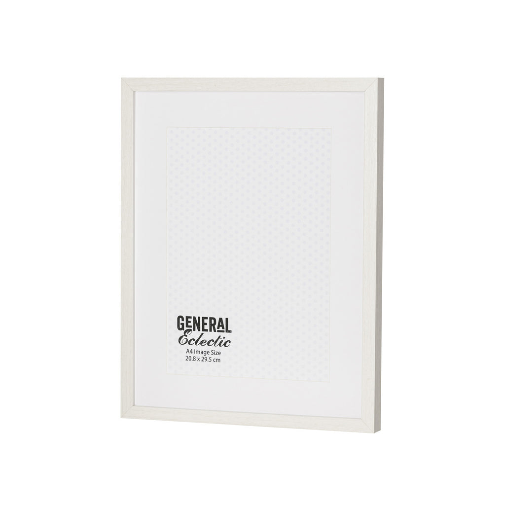General Eclectic | Frame A4 White | Shut the Front Door