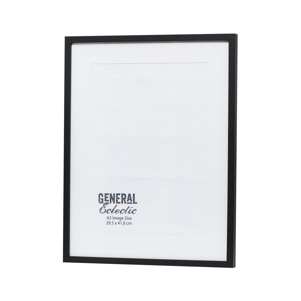 General Eclectic | Frame A3 Black | Shut the Front Door
