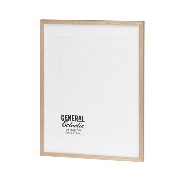 General Eclectic | Frame A3 Natural | Shut the Front Door