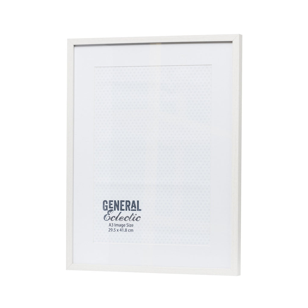 General Eclectic | Frame A3 White | Shut the Front Door