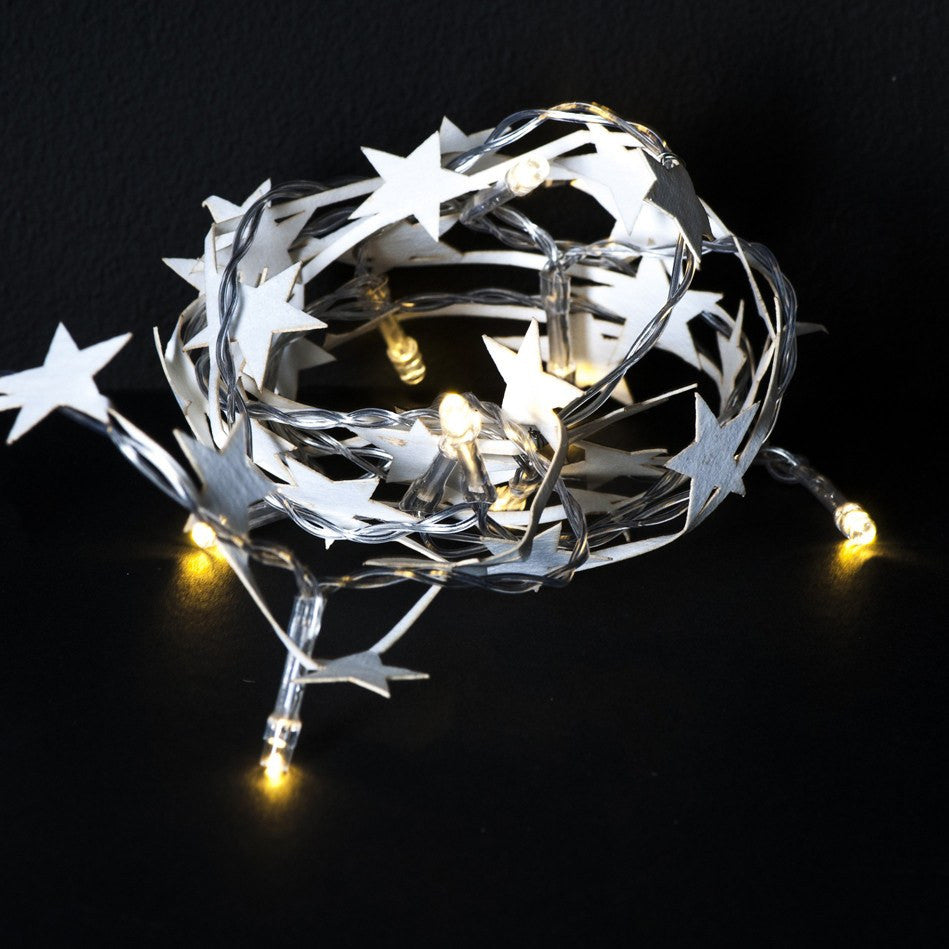 General Eclectic | Paper Star LED Garland | Shut the Front Door