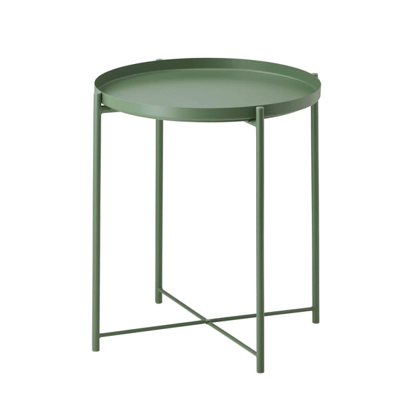 IKEA | Gladom Tray Table - Olive Green | Shut the Front Door