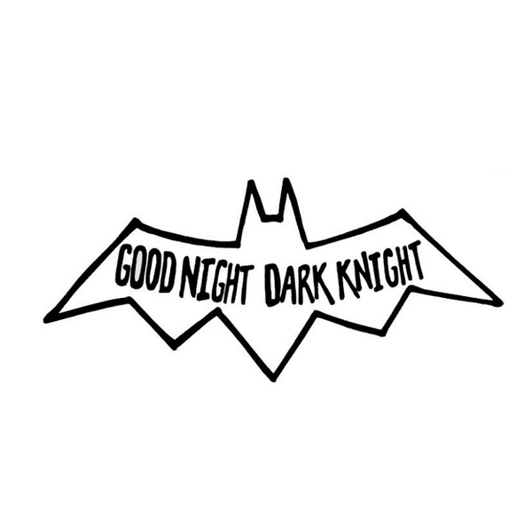 100PercentHeart | Wall Stickers Dark Night | Shut the Front Door