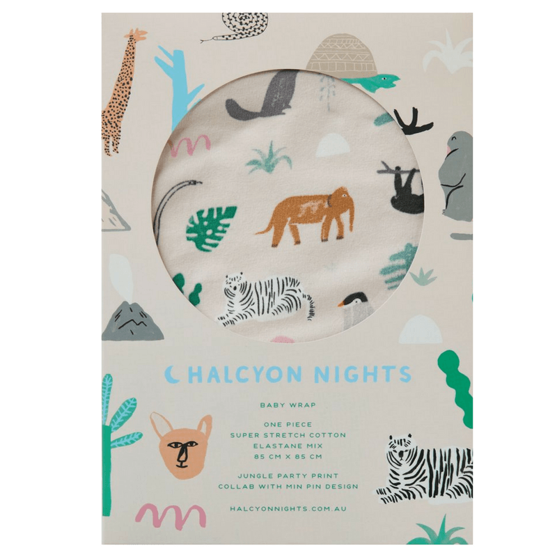 Halcyon Nights | Baby Wrap Jungle Party | Shut the Front Door