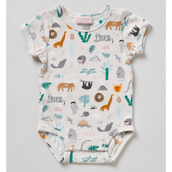 Halcyon Nights | Summer Suit Onesie - Jungle Party - 3-6 months | Shut the Front Door