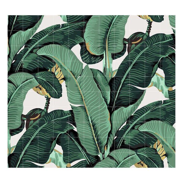 Ixxi | IXXI Artwork Banana Leaf Small 100x80cm | Shut the Front Door