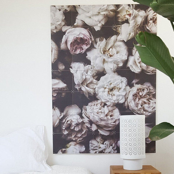 Ixxi | IXXI Artwork Peony Roses by Hannah Lemholt 100 x 140cm | Shut the Front Door