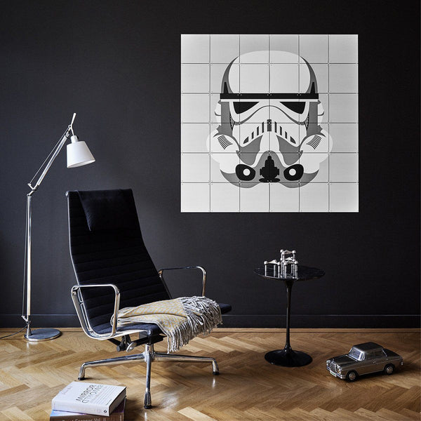 Ixxi | IXXI Artwork Star Wars Stormtrooper / Darth Vader 120x120cm | Shut the Front Door