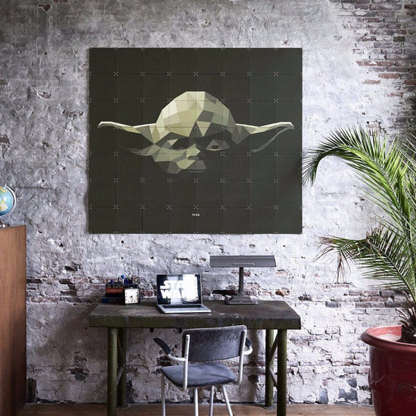 Ixxi | IXXI Artwork Star Wars Yoda 100x80cm | Shut the Front Door