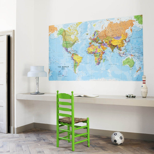 Ixxi | IXXI Artwork World Map 200 x 120cm | Shut the Front Door