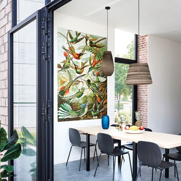 Ixxi | IXXI Artwork Hummingbirds 60x100cm | Shut the Front Door