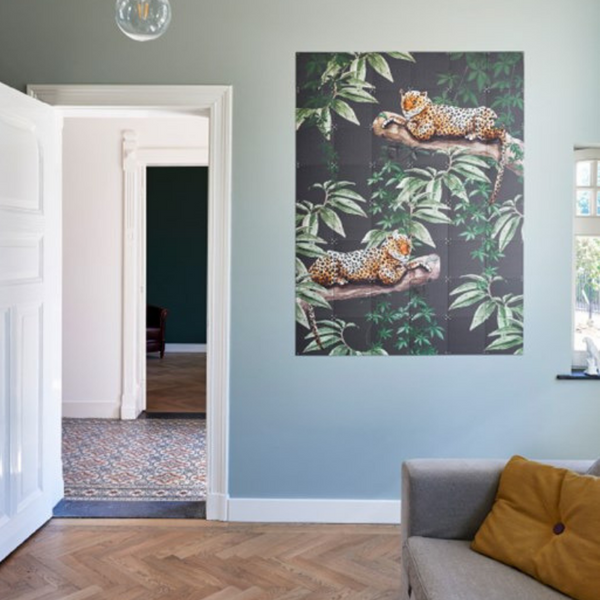Ixxi | IXXI Artwork Jungle & Wild Double Sided 80x100cm | Shut the Front Door