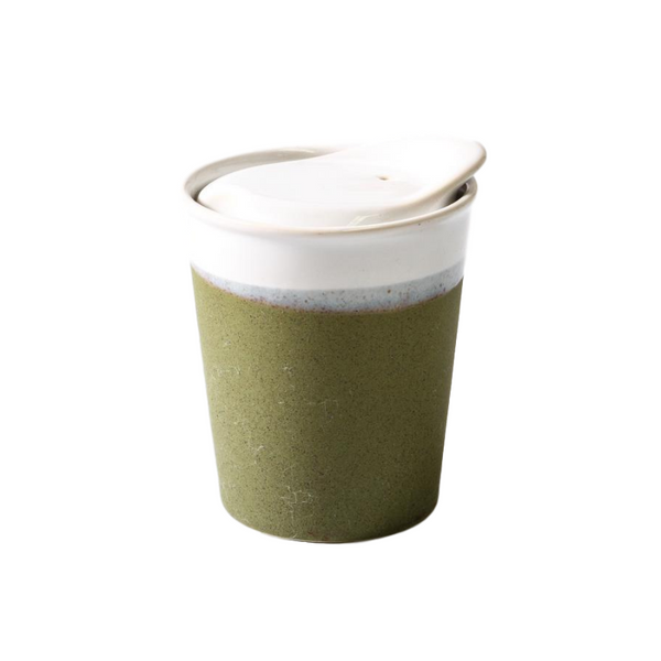 Its A Keeper Ceramic Cup - Sprout Green