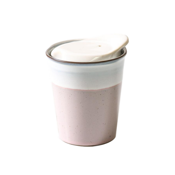 INDIGO LOVE | Its A Keeper Ceramic Cup - Strawberry Milk | Shut the Front Door