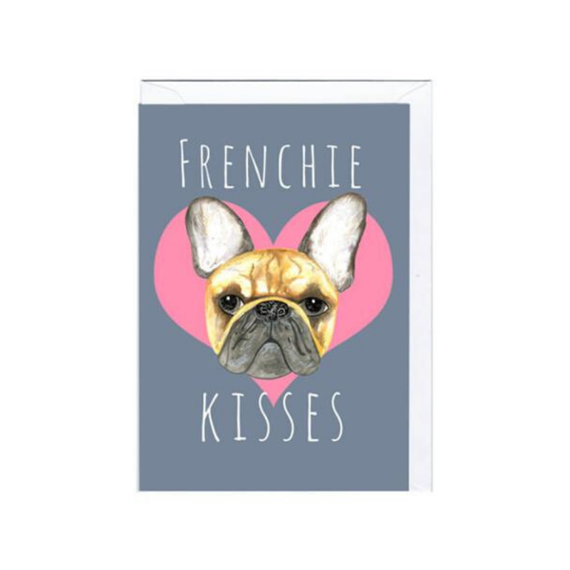 Jolly Awesome | Frenchie Kisses Card | Shut the Front Door