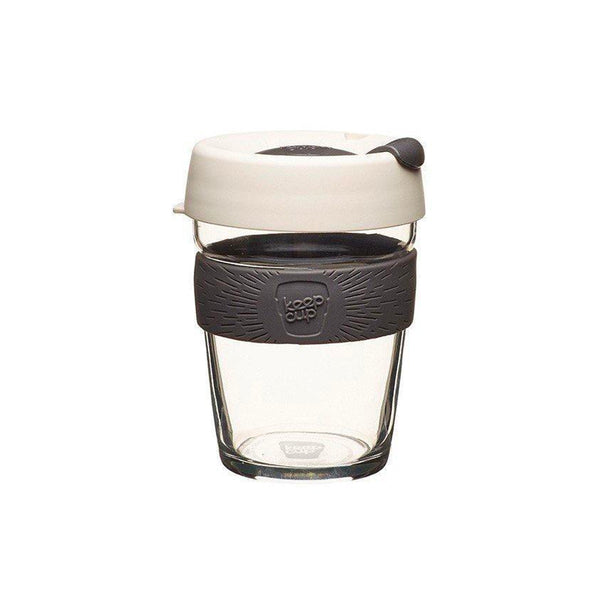KeepCup | KeepCup Brew Reusable Glass Coffee Cup 12oz / 340ml - Milk | Shut the Front Door