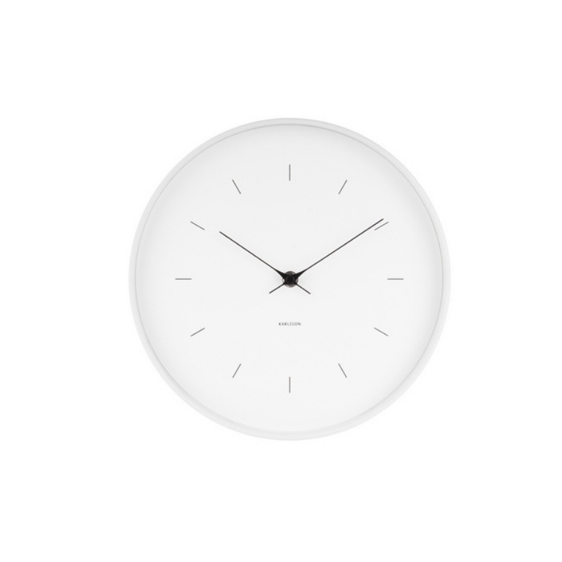 Karlsson | Butterfly Wall Clock - White | Shut the Front Door