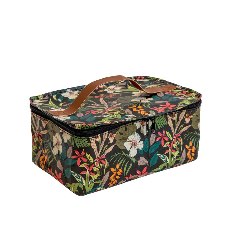 Kollab | Toiletry Stash Bag - Hibiscus | Shut the Front Door