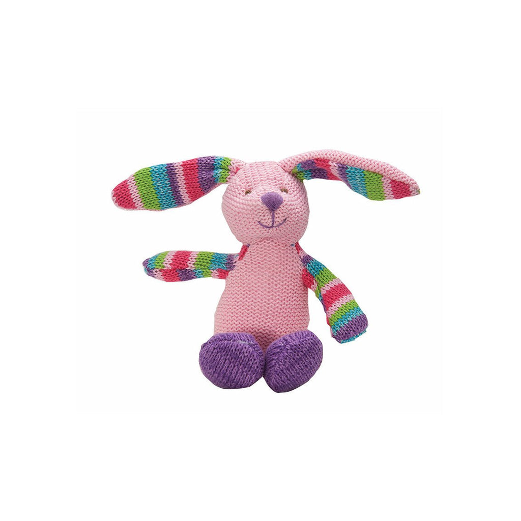 L&G Knitwits Rattle Rabbit