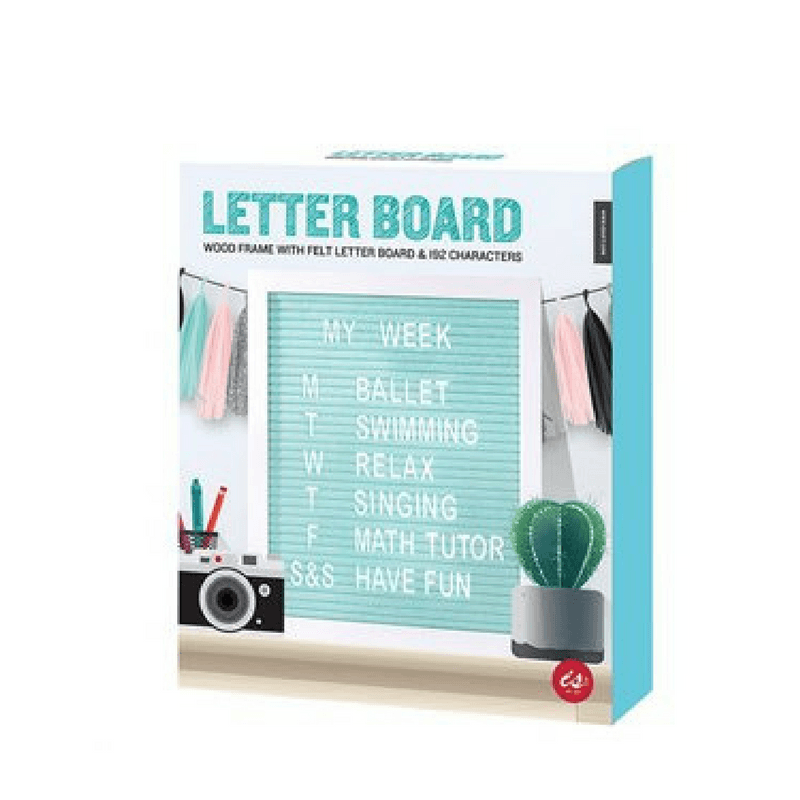 IS Gifts | Letter Board - Pastels | Shut the Front Door