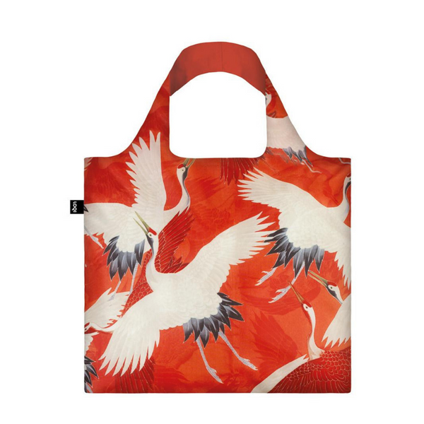 Loqi | Loqi Tote Bag - Cranes *PREORDER* | Shut the Front Door