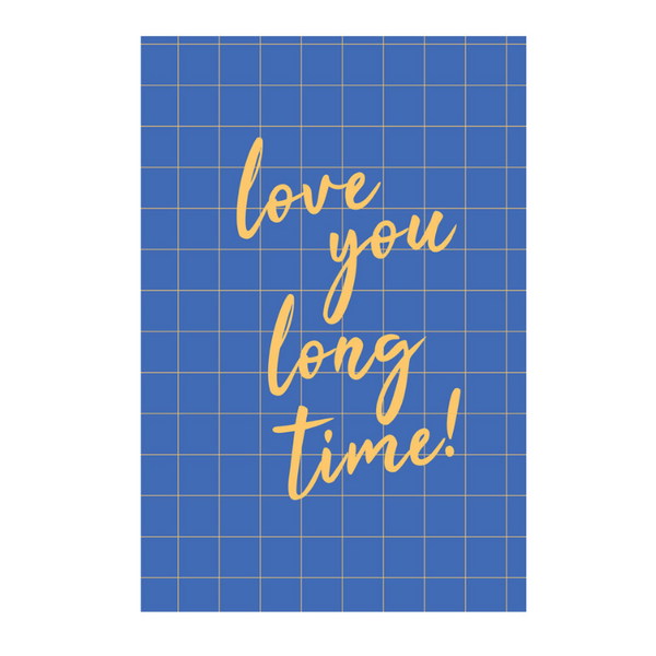 Card -  Love You Long Time