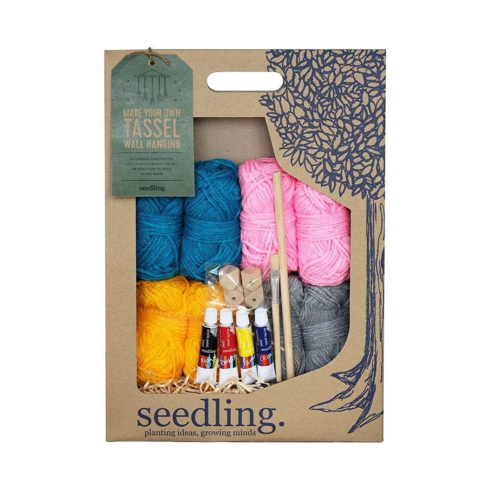 Seedling | Make Your Own Tassel Wall Hanging | Shut the Front Door
