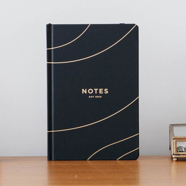 Frank | Notes Bullet Journal - Black | Shut the Front Door