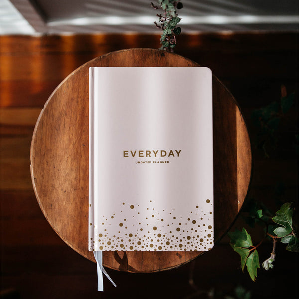 Frank | Everyday Undated Planner - Blush | Shut the Front Door