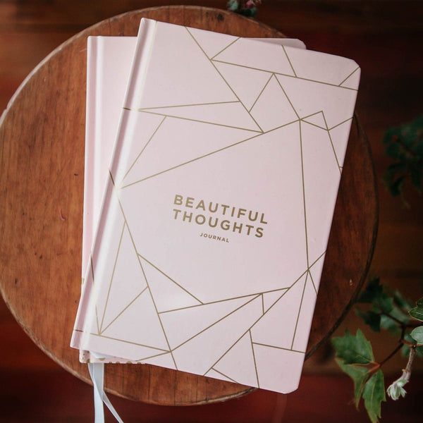 Frank | A5 Beautiful Thoughts Journal Blush | Shut the Front Door