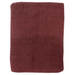 Mulberi | Milford Moss Stitch Throw MARSALA 125x150cm | Shut the Front Door
